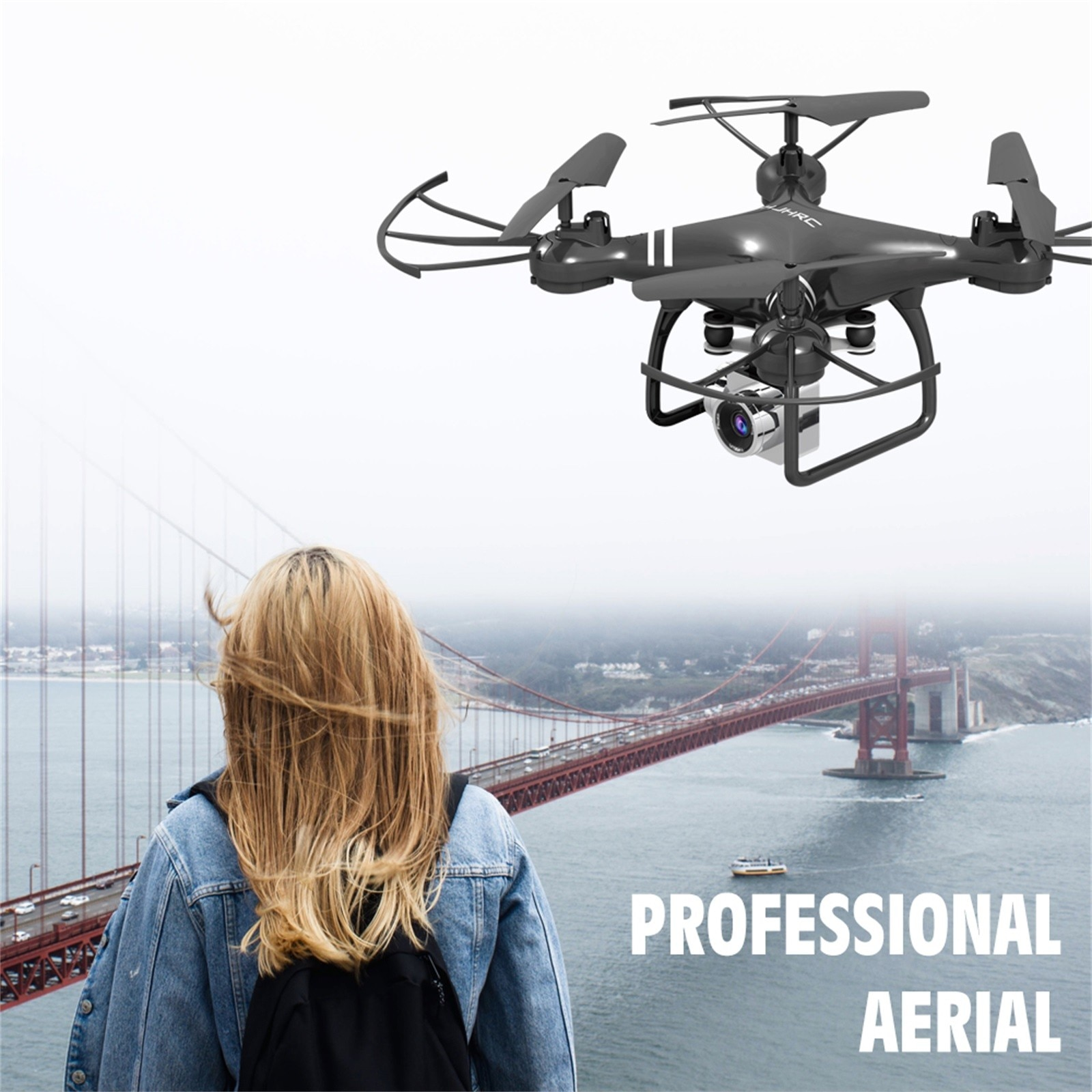 H7a4fa23dde204157a1d26b1570ef8890I - Hjhrc Four-axis Aerial Photography Aircraft Drone With Camera Hd 4k Wifi Fpv Foldable Drone Height Holding Headless Quadcopter