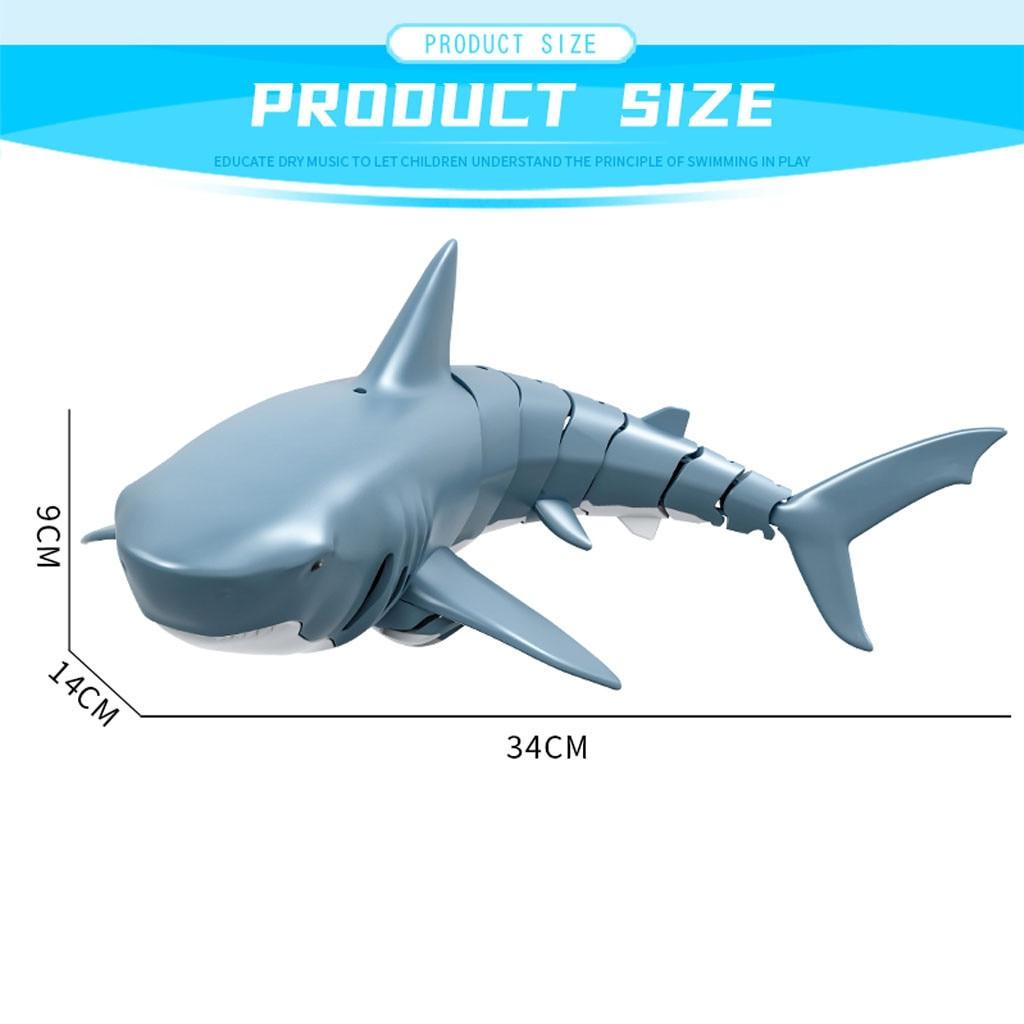 tubarão robô piscina banheiro crianças brinquedos presente