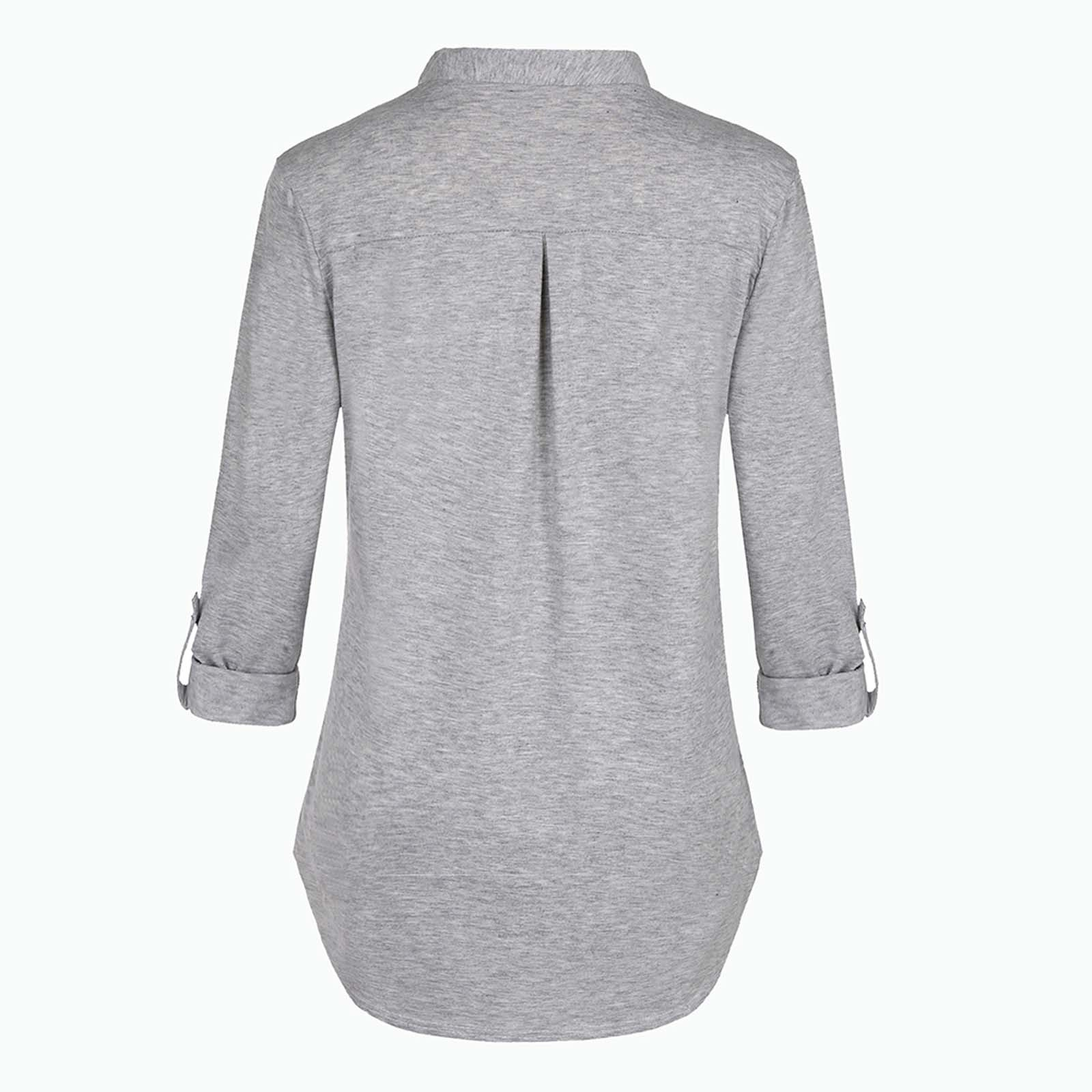 Nova camisa de maternidade, roupa de cor