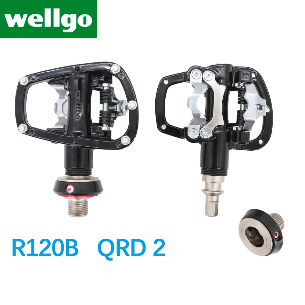 Details about  /Wellgo QRD II Quick Released Pedal Adaptor 1 pair