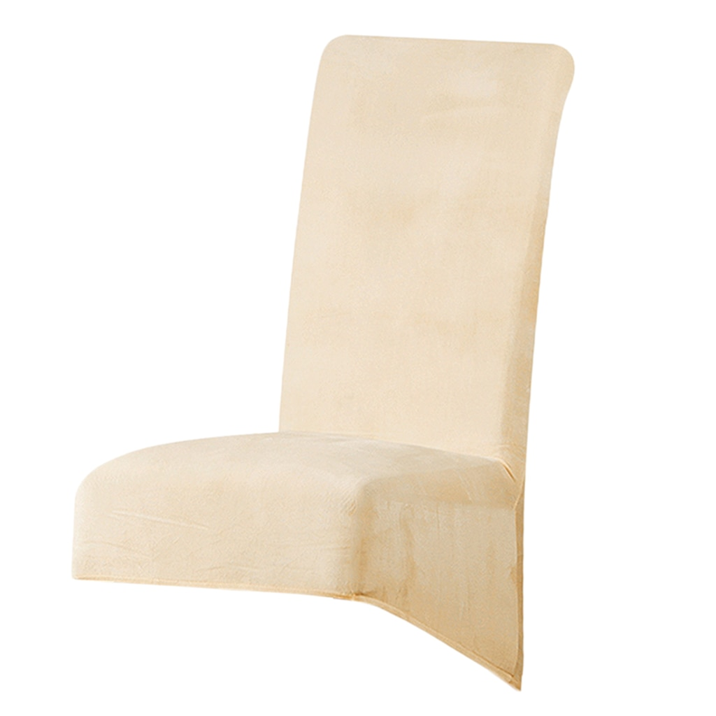 Velvet Stretch Dining Chair Cover for Kitchen Restaurant Multi Occasions,Excellent Elasticity