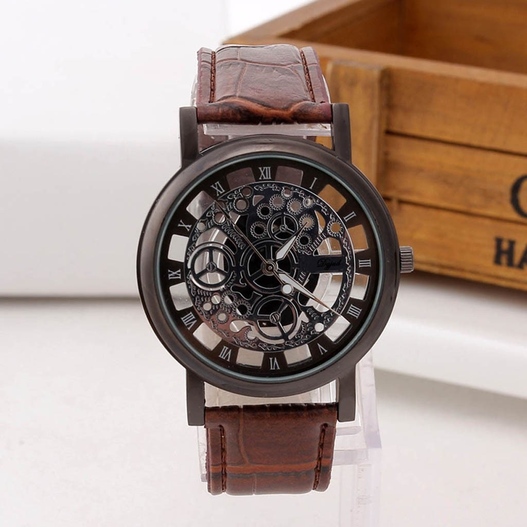 Relogio Masculino Men's Quartz Watches  Elegant Watch