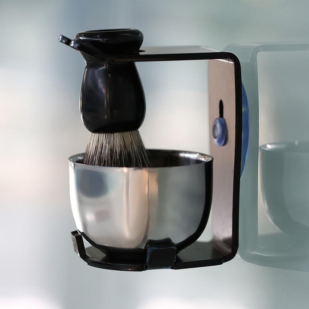 Aço inoxidável tigela barba limpeza para homem