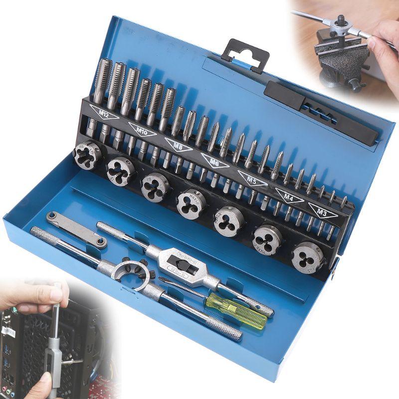 conjunto de liga aço M3-M12 chave de