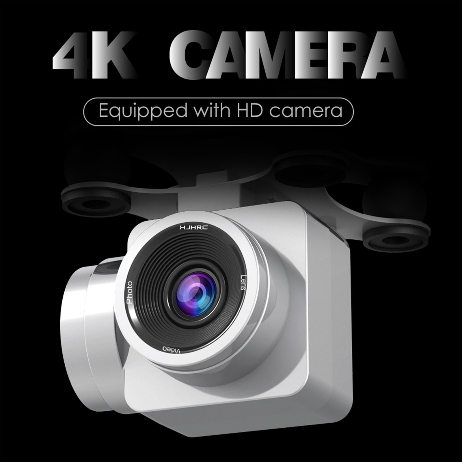 H8b1c4a72ddeb423782b5f2a5e0c33ad7A - Hjhrc Four-axis Aerial Photography Aircraft Drone With Camera Hd 4k Wifi Fpv Foldable Drone Height Holding Headless Quadcopter