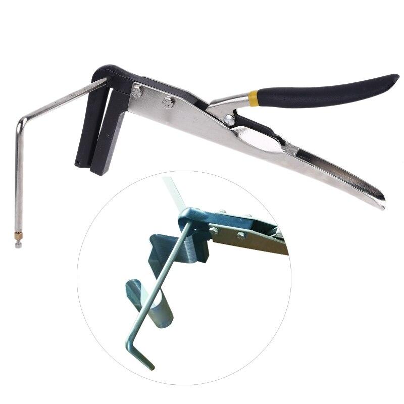 ângulo dobrador aço alicate braçadeira canal carta ferramentas