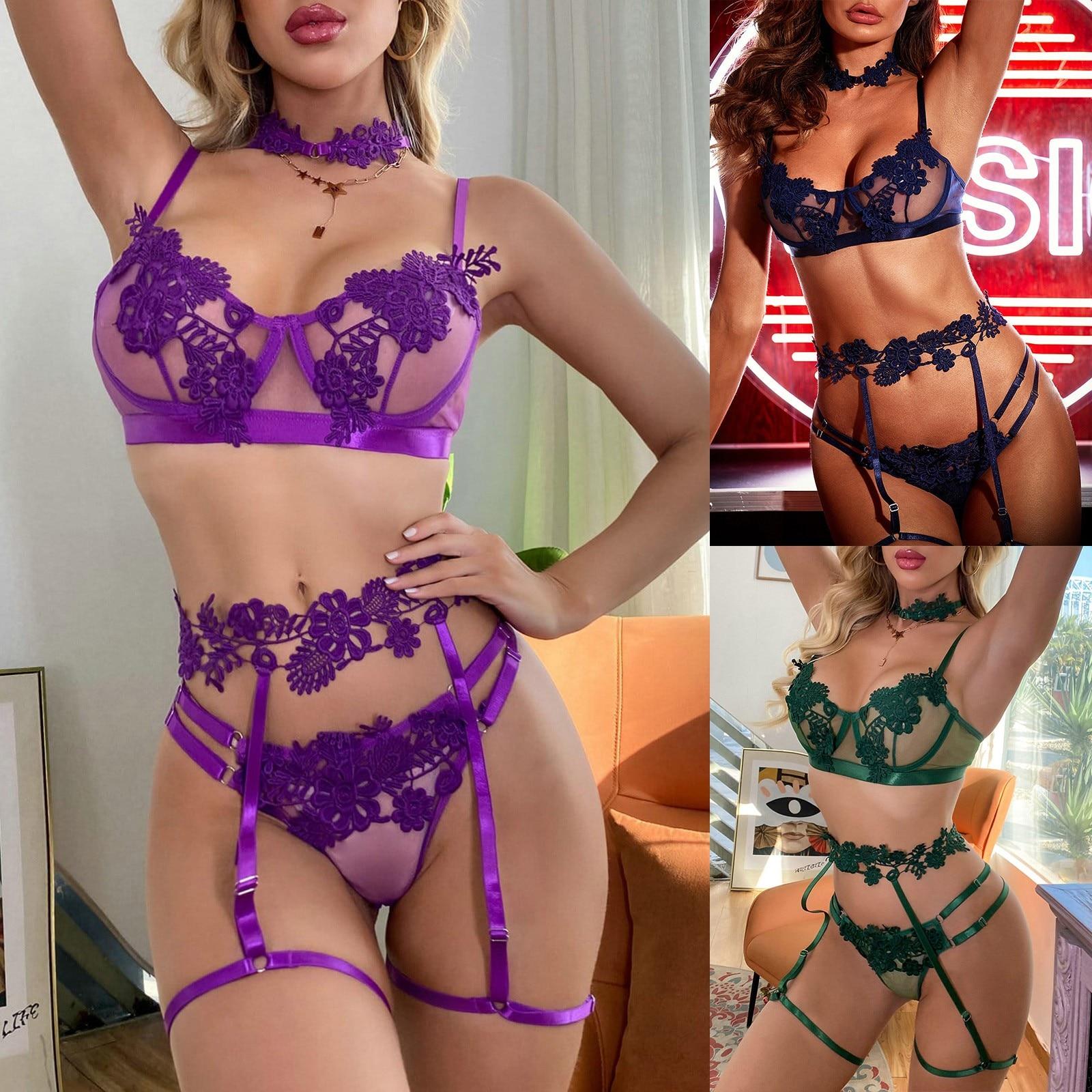 lauma lingerie purple