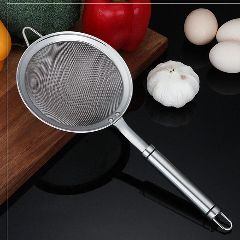 óleo cozinhar acessórios filtro alimentos filtragem aço inoxidável