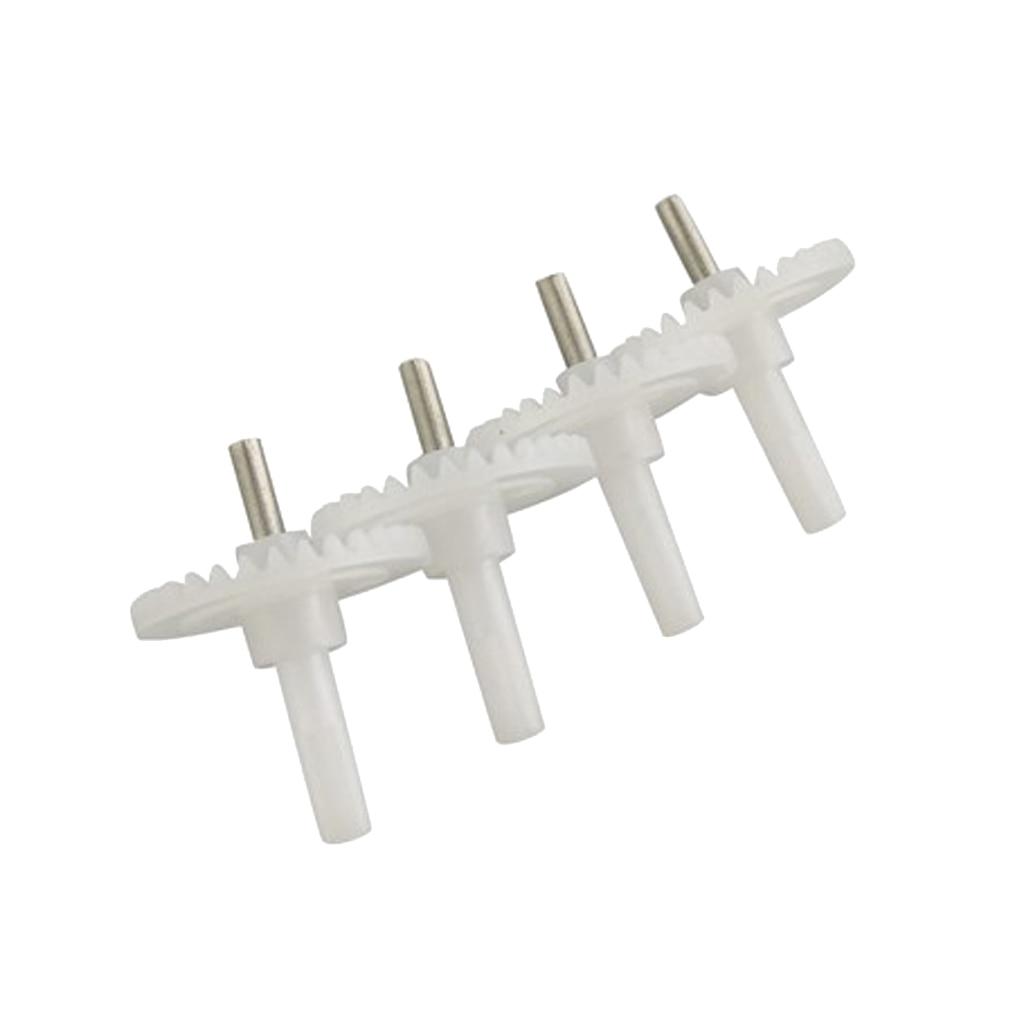 4 Pieces Plastic Motor Gears for E58 S168 JY019 Quadcopter UAV RC Drone