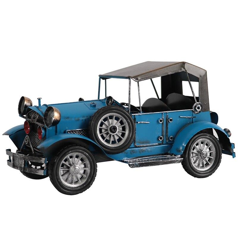 Modelo de carro vintage coleção esculturas de