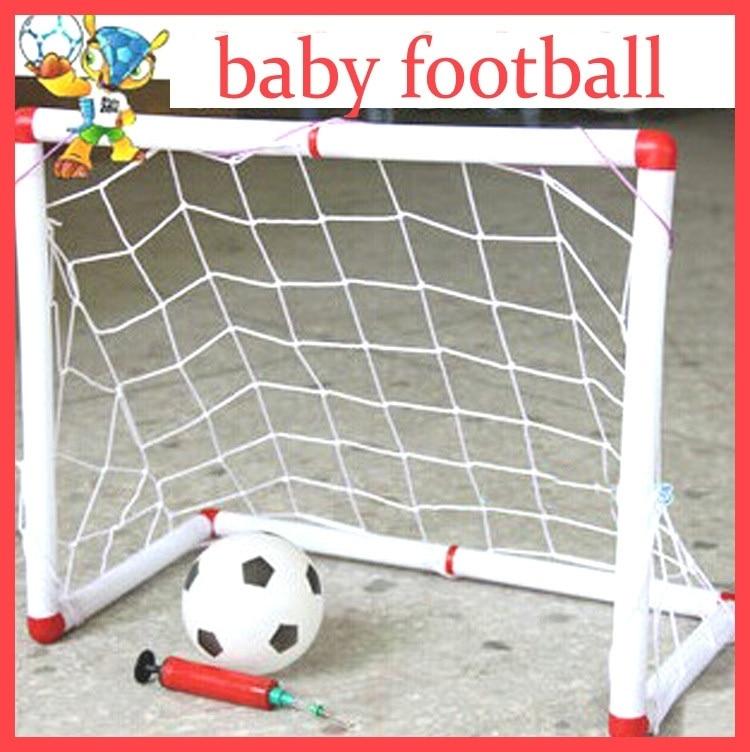 brinquedo família jogo menino crianças plástico futebol objetivo define qw