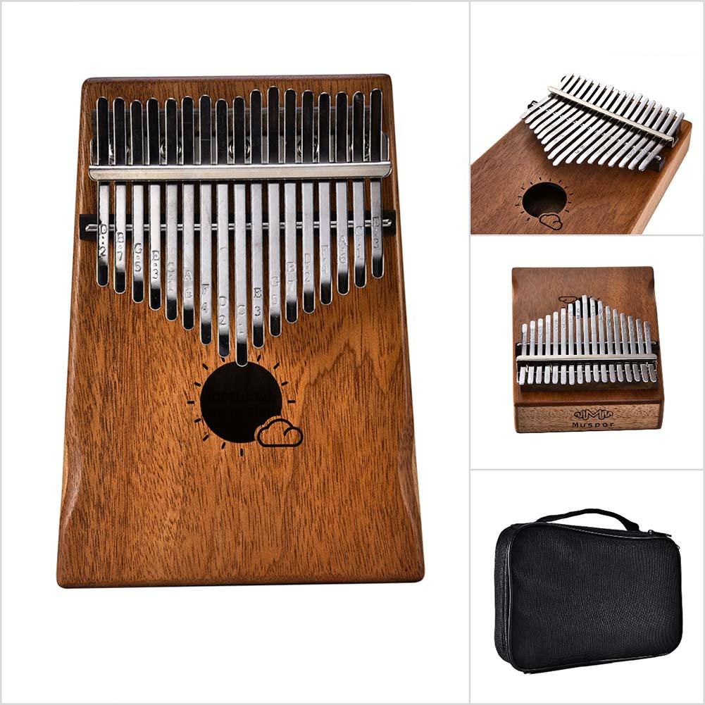 sólido madeira polegar piano dedo presentes de percussão cmg786