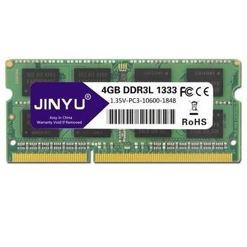 JINYU Ddr3 Low Voltage 4G 1 35V 204Pin RAM Memory For Laptop