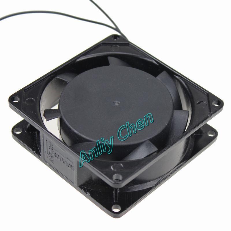 1PCS 8025 Gdstime AC 220V 240V Brushless Cooling Fan 2 wire Cooler 8cm 8025s 80mmx25mm