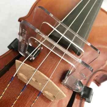 Crystal 4/4 Violin Bow Corrector Tool Guide Straighten Collimator