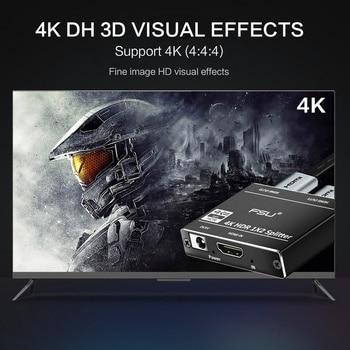 4K@60 HDMI Splitter 2 0 HDR Full HD Video HDMI Switch Switcher