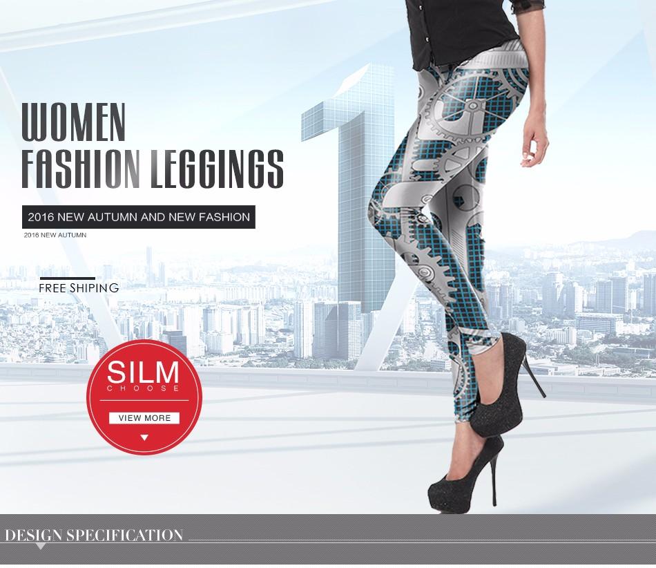 [Jesteś My Secret] Fashion Legginsy Kobiety Steampunk Star Wars Mujer leggin Kobiety Biegów Mechaniczna 3d Druku Cosplay hurtownie 11