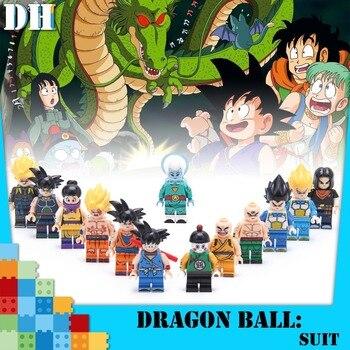 Single Sale Dragon Ball Figure Z Son Goku Vegeta Master Roshi