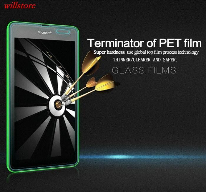 Szkło hartowane Screen Protector for Microsoft Nokia Lumia 430 435 532 540 550 640 XL 650 1020 1320 1520 950 X X2 XL SZKŁA Film 2
