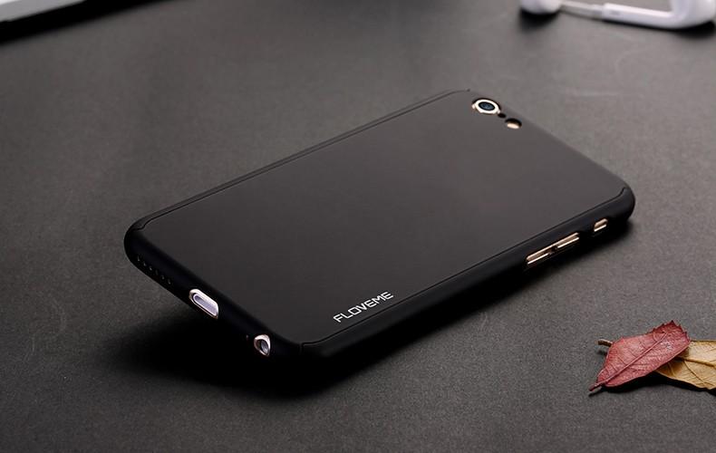 Floveme 6 s 7 plus armor screen protector 360 stopni case dla iphone 7 6 6 s dla iphone 6 6s 7 plus full chroń odporny na wstrząsy pokrywa 25