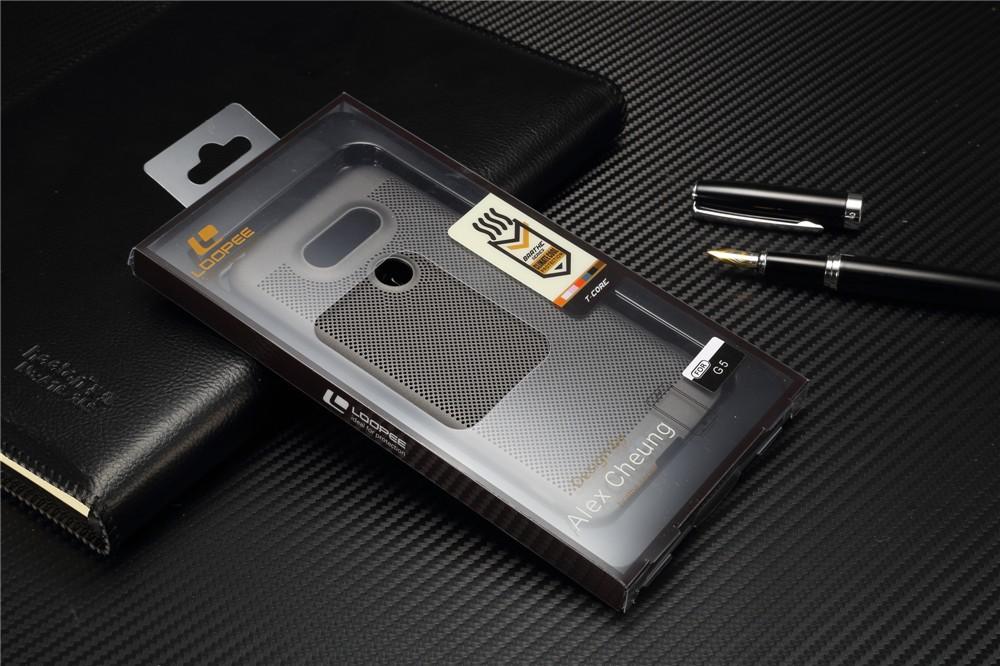 Luksusowa marka ultra thin Nowy siatka powrót pokrywy skrzynka dla LG przypadkach i pokrowce na g5 G5 oryginalne akcesoria 12