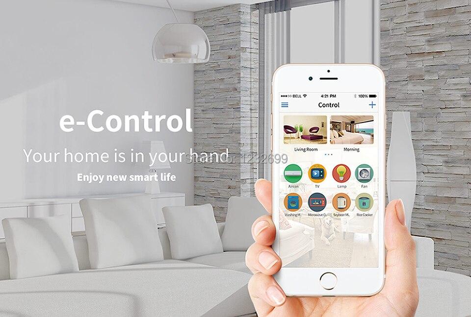 2017 Broadlink RM03 RM PRO Uniwersalny Inteligentny Pilot Smart Home Automation WiFi + IR + RF Przełącznik Poprzez IOS Android Telefon 8
