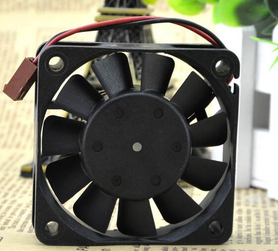 The original Nidec 6CM 60*60*15 12V 0.16A R33965-55 dual ball fan