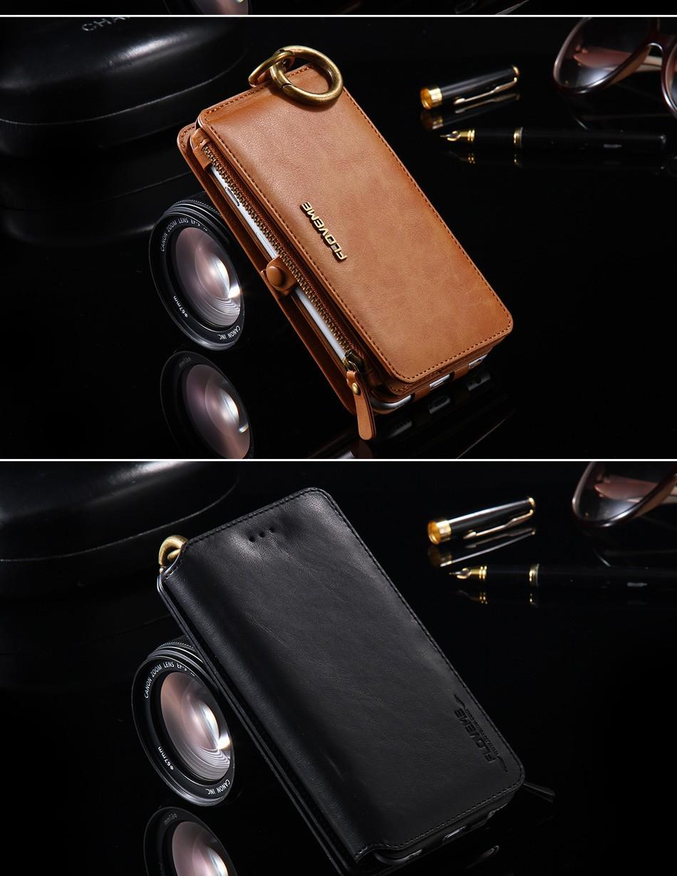 Floveme oryginalny retro skóra telefon case for iphone 6s 6 4.7 dla iphone6s iphone 6s przypadki metalowy pierścień coque pokrowce na iphone 7 12