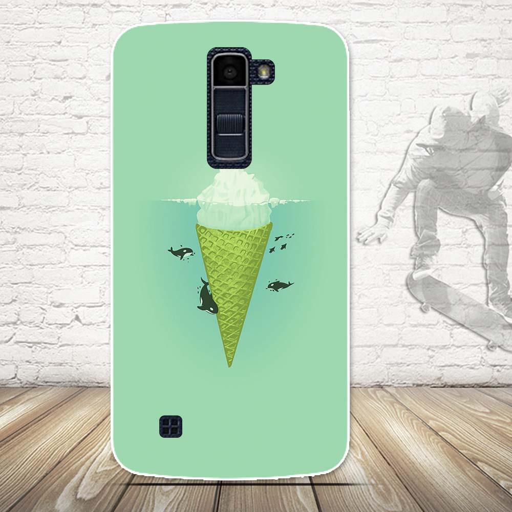 Luksusowe 3d farba miękka tpu powrót telefon pokrywa case do lg k10 lte k 10 m2 k410 k420n k430ds f670 podwójny case powrót silikon pokrywa torby 15