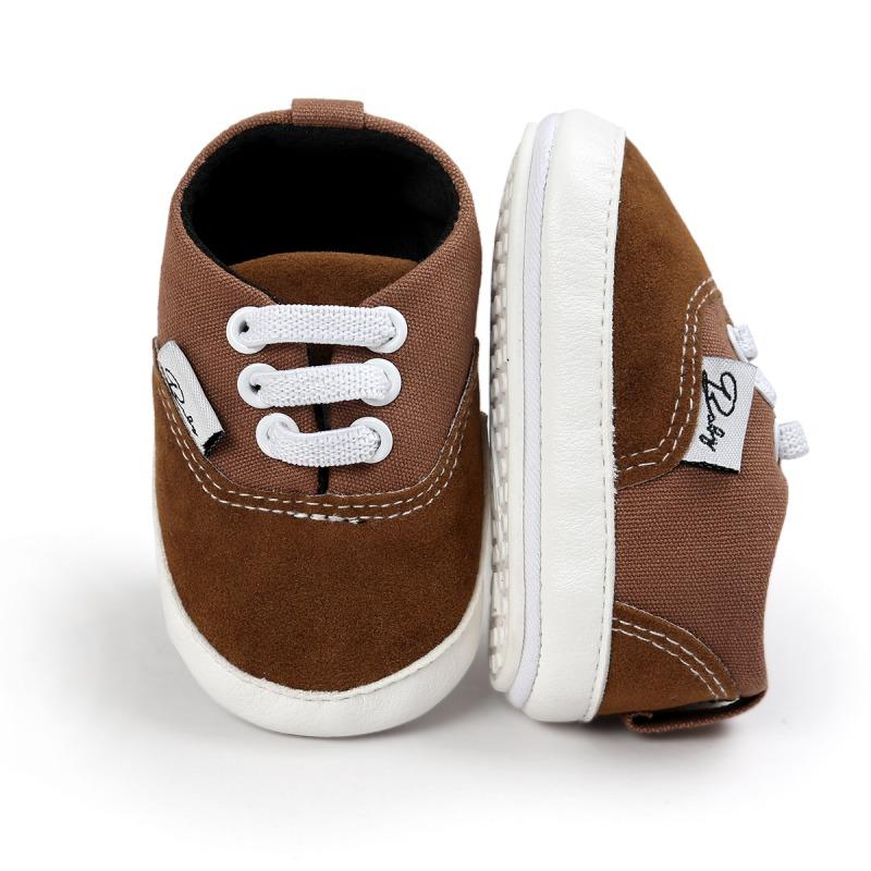 Wiosna Jesień Dziecko Noworodka Dziewczynka Chłopiec Miękkie Podeszwy antypoślizgowe Maluch Prewalker Niemowląt Sneaker Buty Na Co Dzień 10