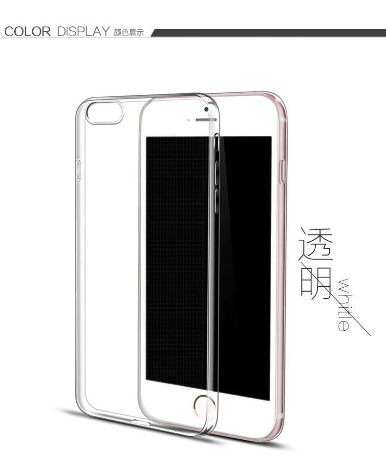 Esamday Ultra Thin Miękka TPU Gel Oryginalny Przezroczysty Case Dla iPhone 6 6 s 7 7 Plus 6 sPlus Crystal Clear Silicon Obejmują Przypadki Telefonów 11