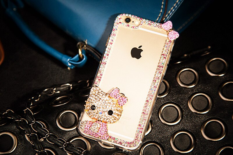Sädeleva Hello Kittyga ümbris – iPhone