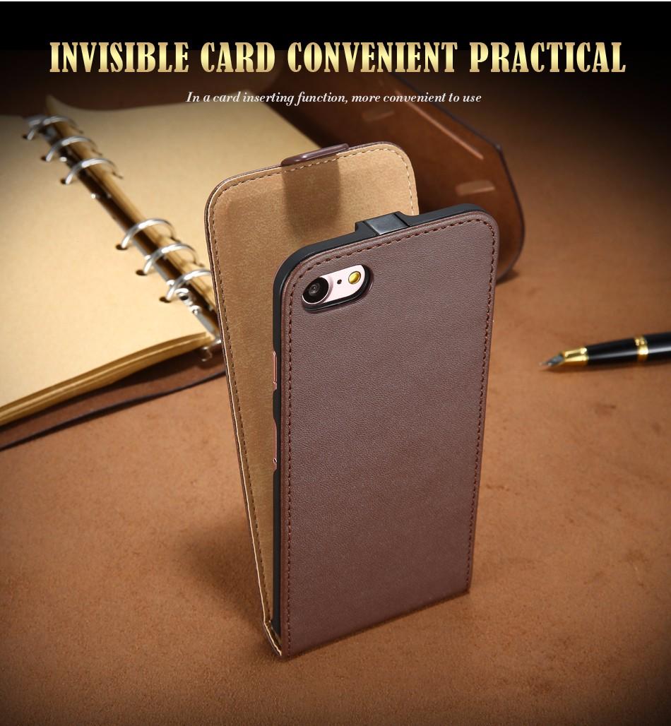 Kisscase retro 100% pu leather case for iphone 4 4s 5s 5 se 6 7 luksusowe pionie magnetic przerzucanie phone bag pokrywa dla iphone 4s 5s 7