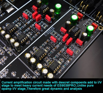 Двойной ES9038PRO DSD DAC OLED дисплей ES9038 HIFI
