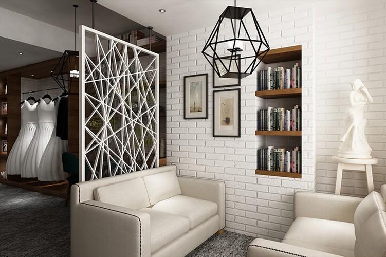 Nowoczesne 3D Cegły Off Biała Piana Grube Tłoczone Winylu oblicowywanie Ścian Ściany Rolki Papieru Tle Ściany salon Sypialnia Tapety 5