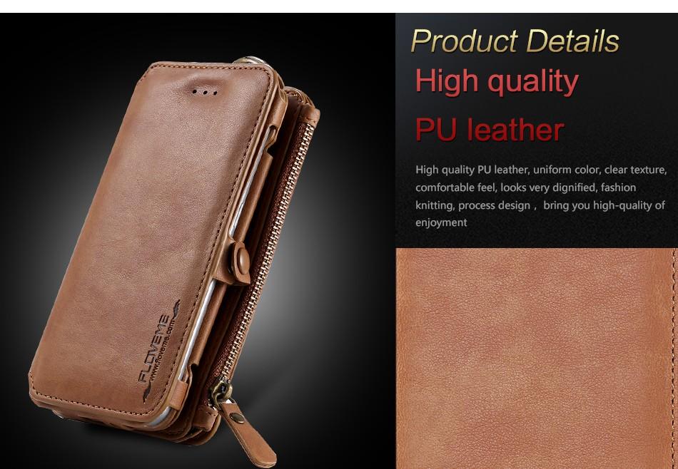 Floveme retro skóra telefon case do samsung galaxy note 3 4 5/s7/s6 edge plus metalowy pierścień coque karty portfel ochronne pokrywa 2