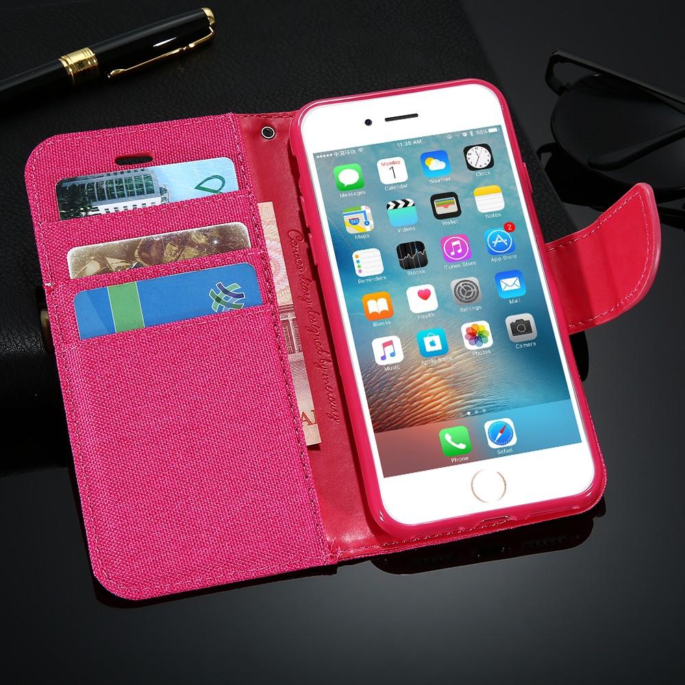 Kisscase stań portfel przerzuć przypadki dla iphone 6 6s 7 5 5S mody hit kolor slot kart skóra pokrywa dla iphone 7 6 s plus z logo 49