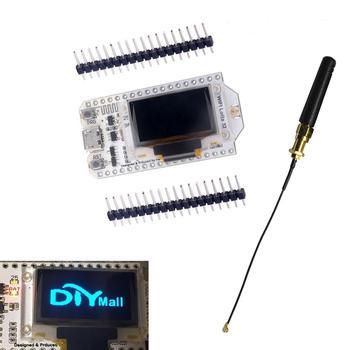 2Pcs 868MHz SX1276 ESP32 LoRa 0 96 Inch Blue OLED Display Bluetooth