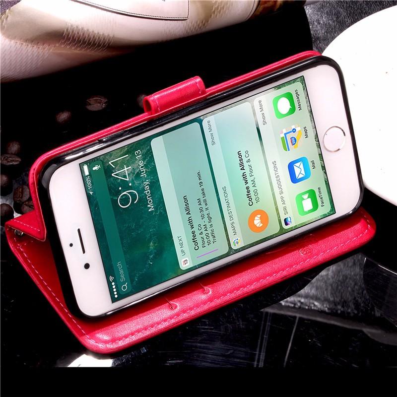 Dla iphone 7 plus 4S 5S 4 5 6 s skórzane etui z klapką case do samsung galaxy a3 a5 j3 j5 2016 j1 s6 s7 s3 s4 s5 mini grand prime pokrywa 39