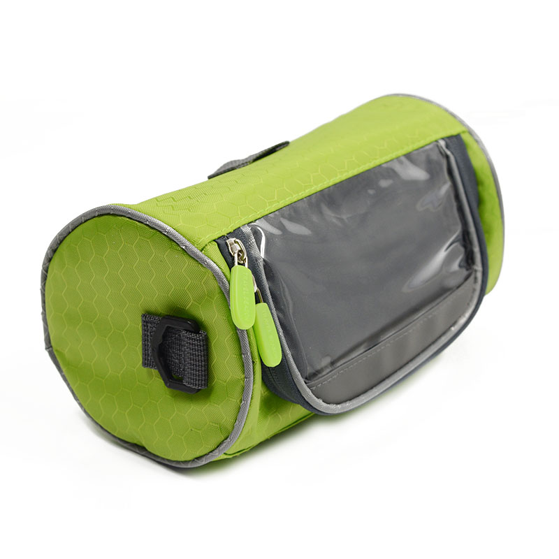 Wodoodporny Ekran Dotykowy Sakwy Rowerowe Rower Górski Rower Torby Phone Bag Case Rower Szosowy Rura Przednia Kierownica Torba Cylindra 29