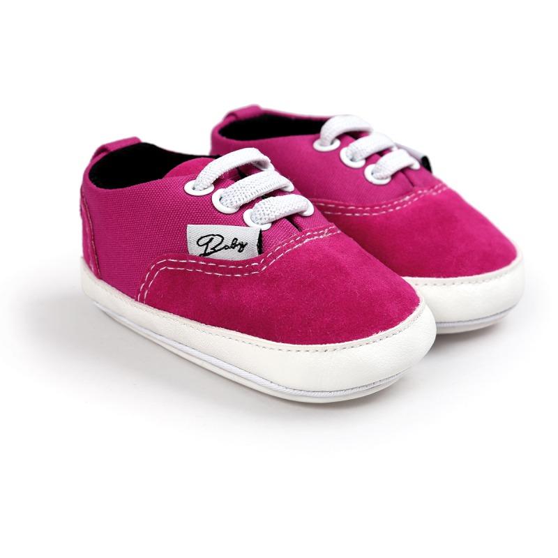 Wiosna Jesień Dziecko Noworodka Dziewczynka Chłopiec Miękkie Podeszwy antypoślizgowe Maluch Prewalker Niemowląt Sneaker Buty Na Co Dzień 29