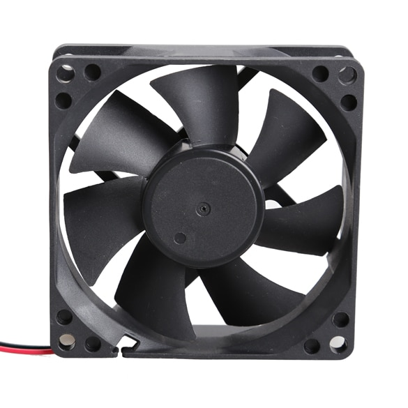 80x80x25mm 24V Brushless DC 7 Blade PC Cooler Cooling Fan Low Noise Clearance Sale Best Price