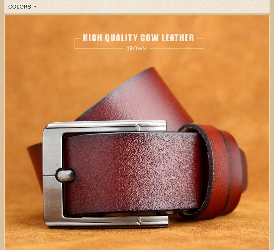 [Miluota] pasy designer mężczyźni wysokiej jakości prawdziwy skórzany pas dla mężczyzn luksusowe ceinture homme military style 130 cm mu012 18