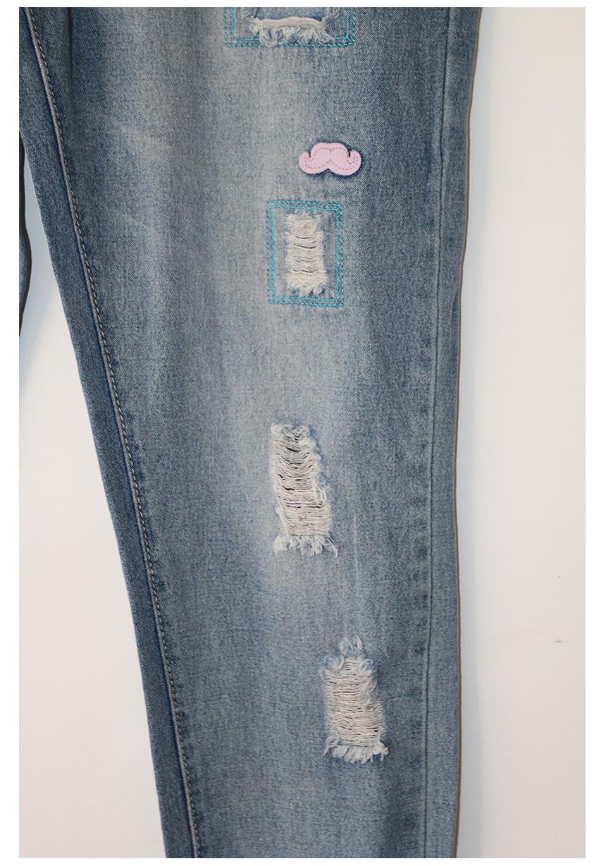 2016 gourd doll opieki macierzyński ciąży jeans spodnie dla kobiet w ciąży elastyczny pas jeans kombinezony odzież ciąży ciąża 7