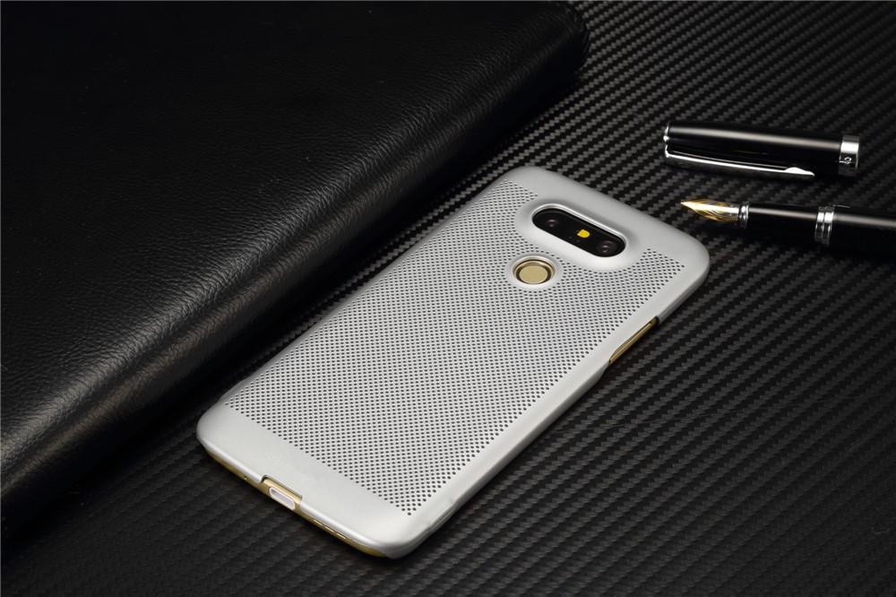 Luksusowa marka ultra thin Nowy siatka powrót pokrywy skrzynka dla LG przypadkach i pokrowce na g5 G5 oryginalne akcesoria 11