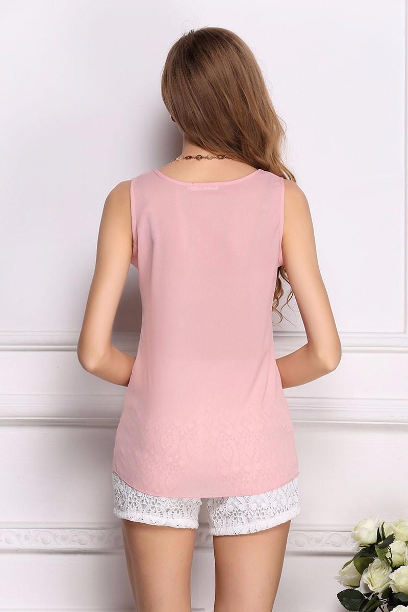 2017 moda popularne sexy szczupła marynarka clothing blusas bluzki damskie szyfonowa letnia lady bluzka/koszula 9 kolory topy ol bluzka 5