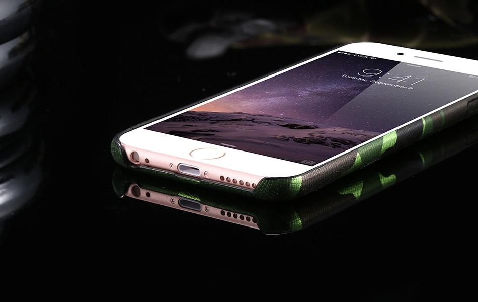 Dla iphone 7 5 5s se case wojskowy kamuflaż mężczyzn skórzane torby telefon sprawach dla iphone 7 7 plus pokrywa dla iphone 6 6s plus 5 5S se 19