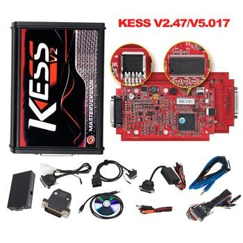 EU Red KESS V2 v5 017 Master ktag v7 020 Manager turning kit No Token