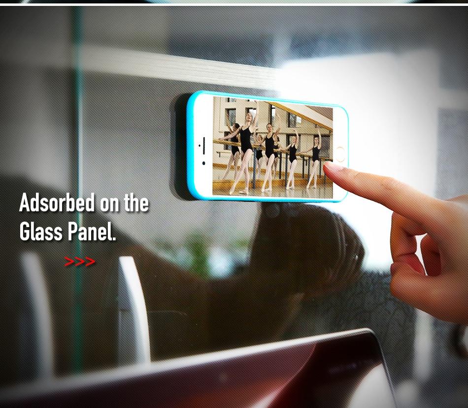 Anti-gravity case dla apple iphone 7 plus 6 6 s plus 5 5S se pokrywa dla samsung galaxy s6 s7 edge samsung s8 plus przypadki huawei p9 4