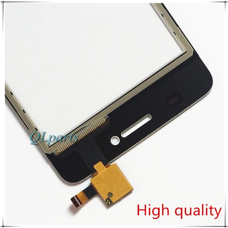 """4 """"ekran dotykowy czujnik do zte blade af3 t221 a5 a5 pro ekran dotykowy przedni panel dotykowy szkło digitizer wymiana z naklejki 4"""